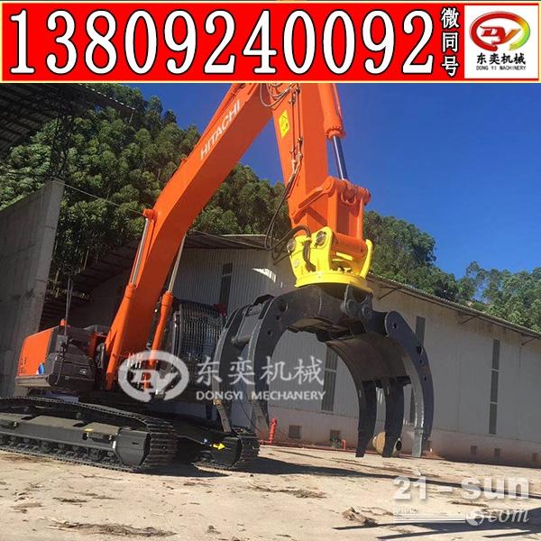 广州销售抓木器 挖掘机夹木夹钢器