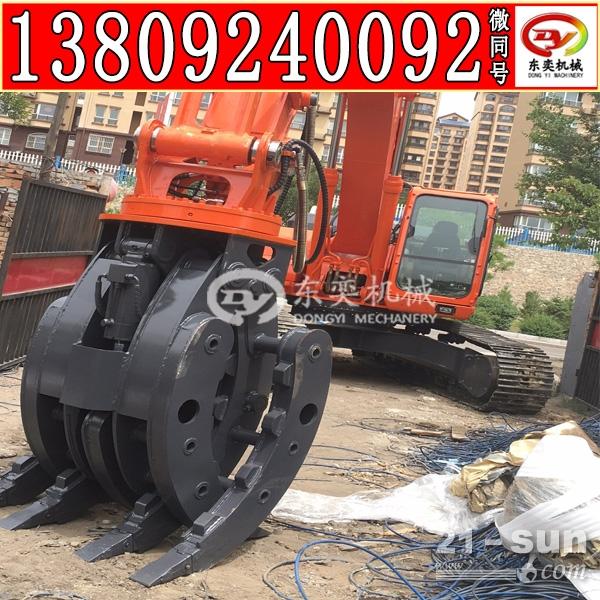 工程机械抓木器 建筑夹石器 抓钢机厂家