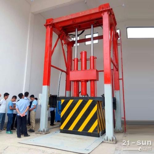 垂直式垃圾转运站 垃圾压缩站配套设备