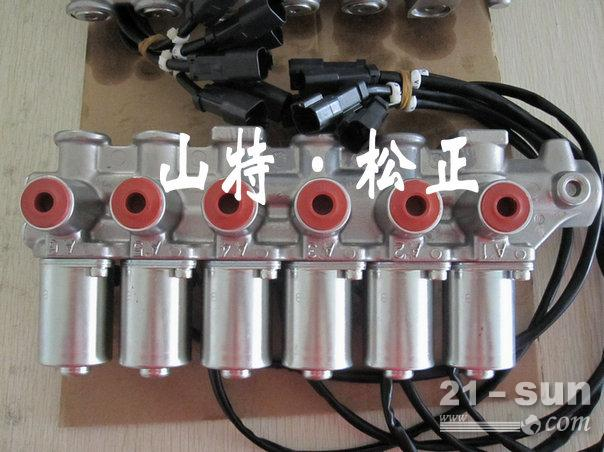 [产品供应]  小松pc210-7-8电磁阀组,液压泵电磁阀,先导阀,小松纯正图片