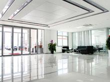 捷瑞数字办公楼--一楼大厅