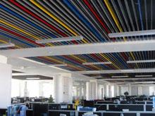 捷瑞数字办公楼--办公大厅