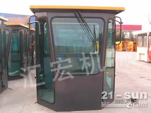 生产装载机驾驶室及后机罩