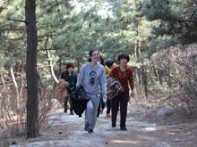 2013年三八节爬山