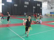 2013杰瑞网络夏季羽毛球赛