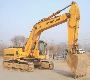 R450-7挖掘机全车动作迟缓无力是什么原因