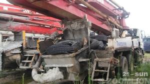 雷沃重工FHM5290THB-37色姑娘久久综合网混凝土泵车