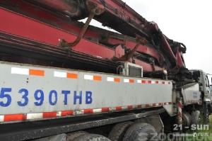 雷沃重工FHM5390THB-45色姑娘久久综合网混凝土泵车