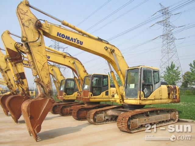 小松PC220-7二手挖掘机