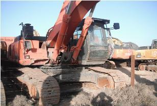 内蒙古日立zx450h二手挖掘机