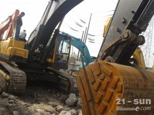 沃尔沃EC460B利发国际挖掘机