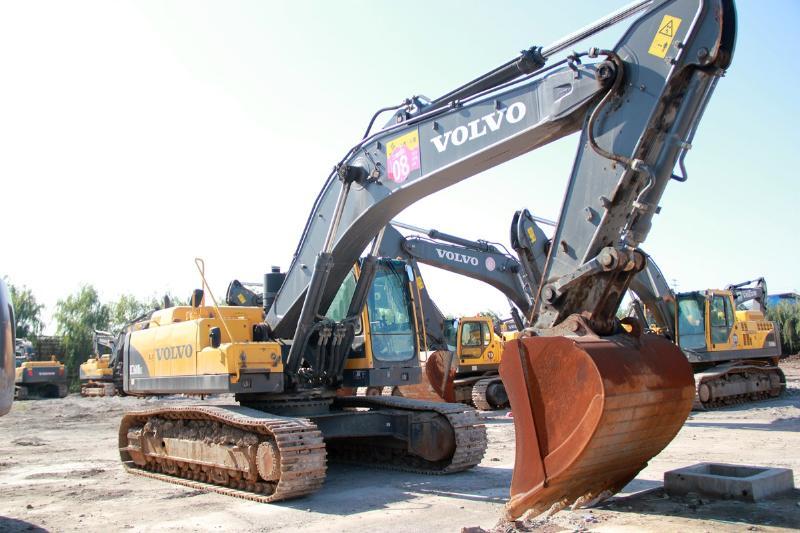 山西沃尔沃ec360blc二手挖掘机