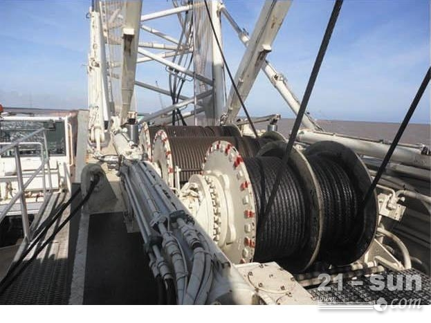 天津 二手二手 履带吊 德马格CC2800 1 600吨