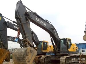沃尔沃EC480DL二手挖掘机