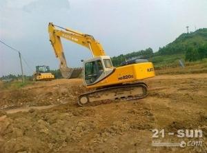 加藤加藤820-3二手挖掘机