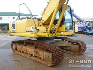 小松pc200-7二手挖掘机