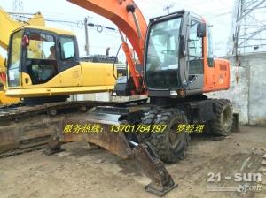 日立ZXW130二手挖掘机