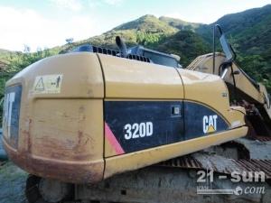 卡特彼勒320D利发国际挖掘机