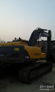 沃尔沃290B色姑娘久久综合网挖掘机