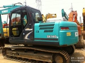 神钢SK140LC-8二手挖掘机