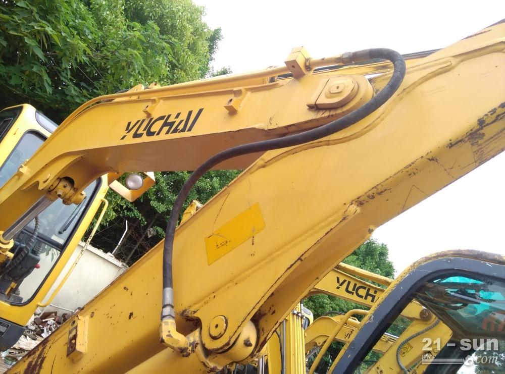 玉柴重工YC60-8二手挖掘机