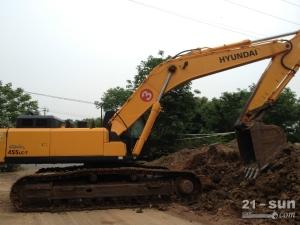 现代R455LC-7二手挖掘机