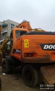 斗山210W-7二手挖掘机