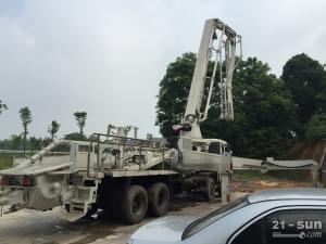 中联重科zl44米二手混凝土泵车