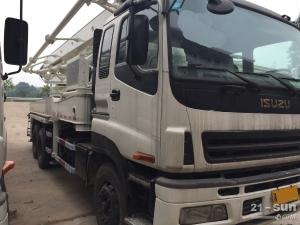 中联重科ZLJ5293-37M二手混凝土泵车
