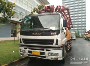 三一46米泵车二手混凝土泵车