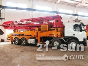 三一三一42米泵车二手混凝土泵车