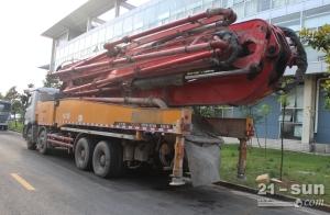 三一12BC54192045二手混凝土泵车
