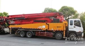 三一10BC54182935二手混凝土泵车