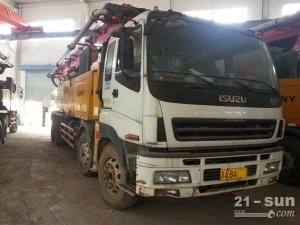 三一11BC54184331二手混凝土泵车