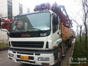 三一11BC54186088二手混凝土泵车