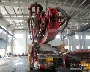 三一12BC53132230二手混凝土泵车