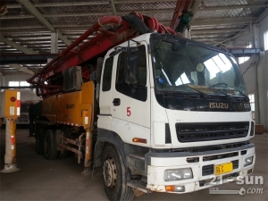 三一11BC53135429二手混凝土泵车