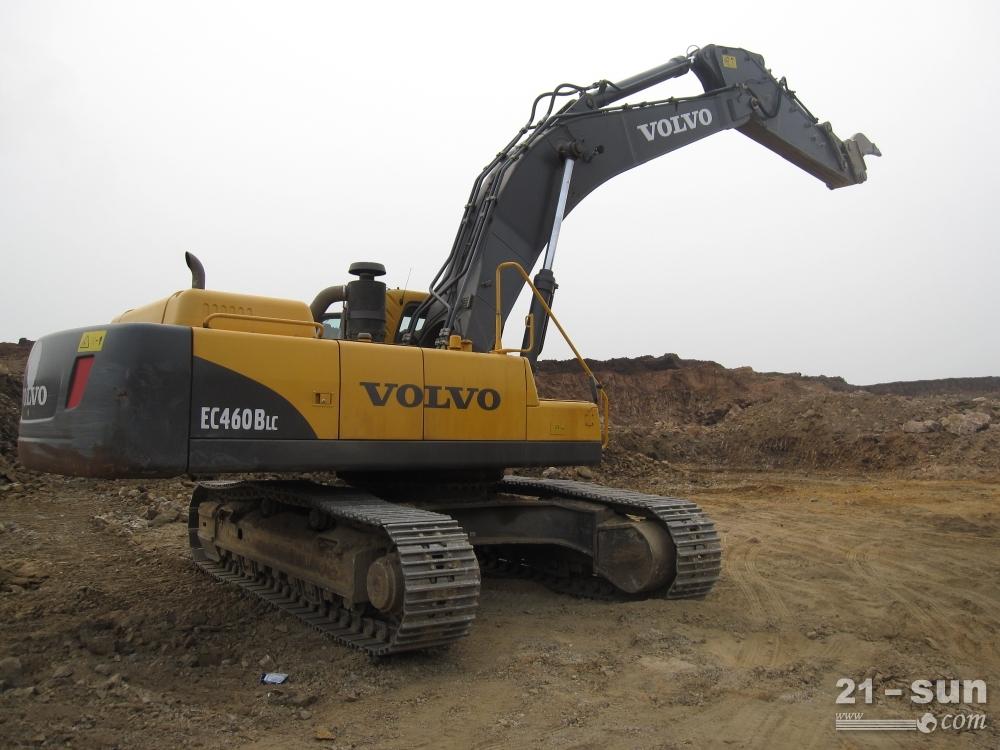 沃尔沃ec480d挖掘机参数