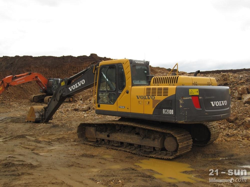 沃尔沃ec170d挖掘机图片
