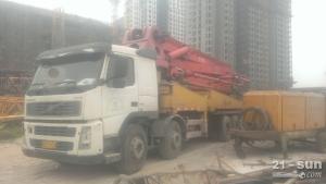 fm380二手混凝土泵车