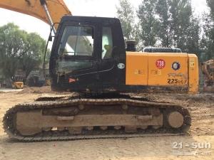 现代(山东)R225LC-7二手挖掘机