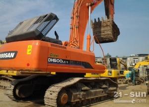 斗山DH500-7二手挖掘机