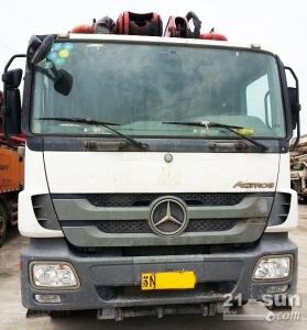 48米泵车二手混凝土泵车