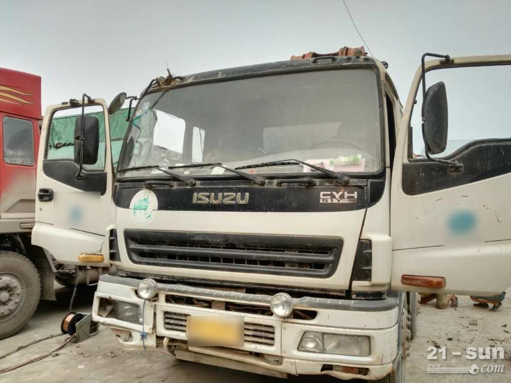三一sy5382二手混凝土泵车