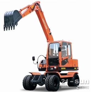 新源机械80二手挖掘机