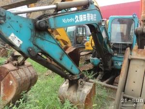 久保田KX155二手挖掘机