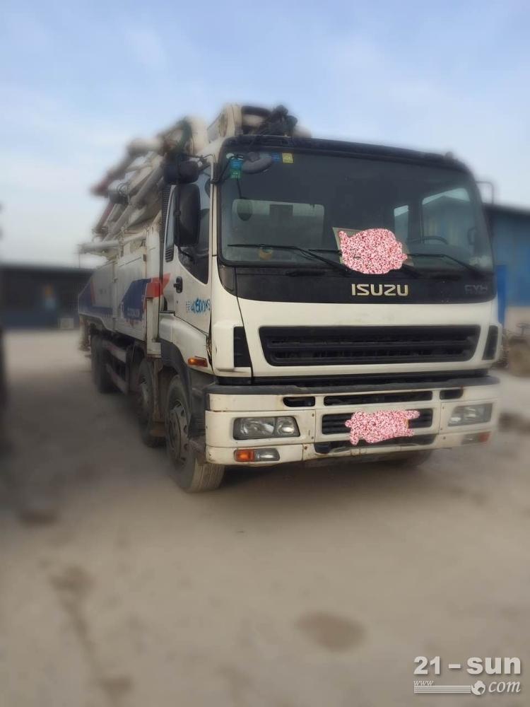 中联重科中联利发国际混凝土泵车