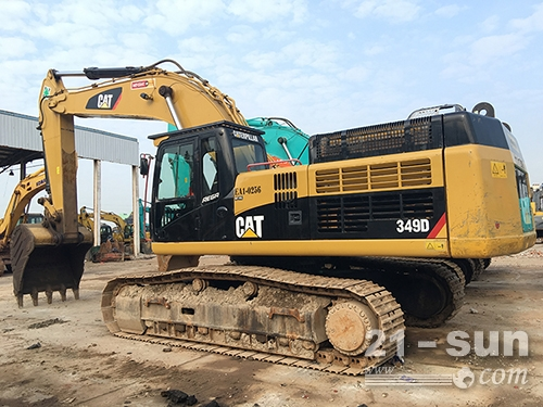 卡特彼勒349D二手挖掘机