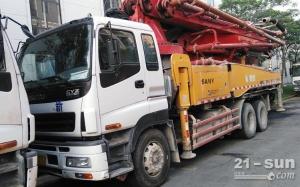 三一46米二手混凝土泵车