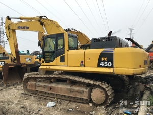 小松450-8利发国际挖掘机